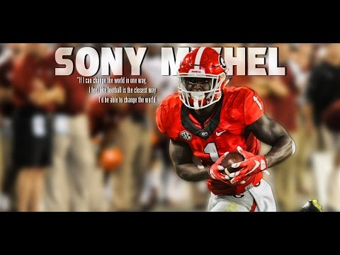 UGA FOOTBALL: Beneath The Helmet | Sony Michel: Born To Play: 2015