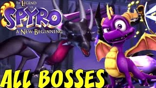 Legend of Spyro: A New Beginning - All Bosses