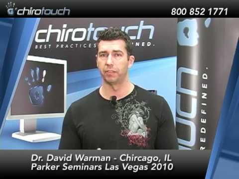 Chiropractor Dr. David Warman Talks about ChiroTouch Chiropractic Software