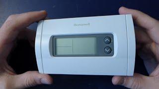 random teardown #006: honeywell rth230b thermostat - youtube  youtube