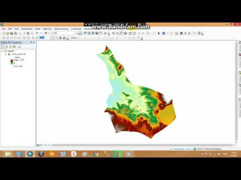 ArcGIS 10.4 Area Solar Radiation
