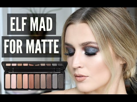 3 LOOKS USING ELF MAD FOR MATTE PALETTE