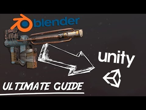 Ultimate Guide For Going From Blender 2.8 To Unity