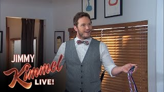 Chris Pratt Confused About Kimmel Booking
