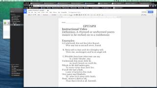 How to Write an Epitaph Poem