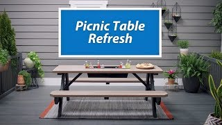 Ask SW : How to Refresh A Picnic Table - Sherwin-Williams
