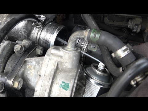 EGR valve cleaning WITHOUT DISMANTLING - Cleaner test Before/After