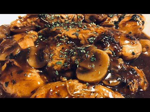 Easy Chicken Marsala Recipe ( Just like in the Restaurants!! )