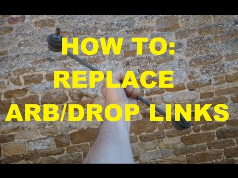 HOW TO: Replace ARB/Droplinks, anti roll bar
