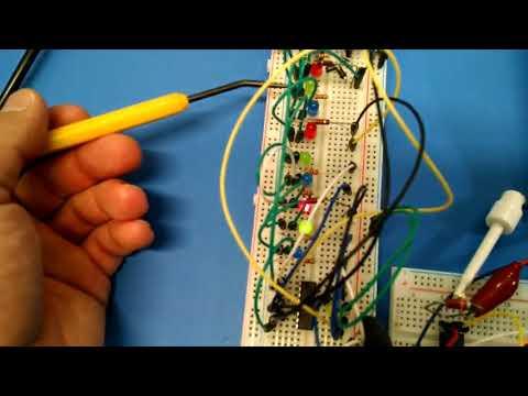 555 4017 Water Circuit Variation Ideas