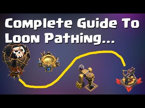 Clash of Clans: THE COMPLETE GUIDE TO LOON PATHING - MASTER AIR ATTACKS | Mister Clash Gaming