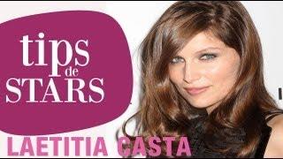Tips de stars - Laetitia Casta : sa bouche mordue