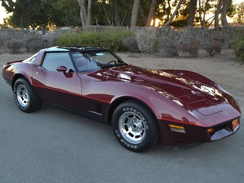 SOLD 1981 Chevrolet Corvette Coupe in Autumn Red for sale by Corvette Mike