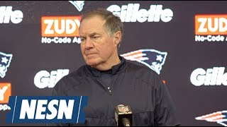 Bill Belichick AFC Divisional round Patriots vs. Chargers postgame press conference