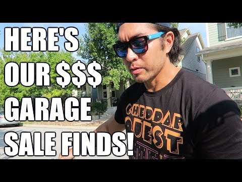 Making Money By Flipping Garage Sale Items!