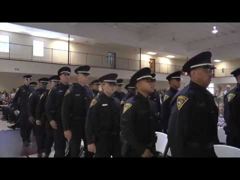 """Guardians of the Defenseless"" Mobile Police Academy Class #56 Graduation"