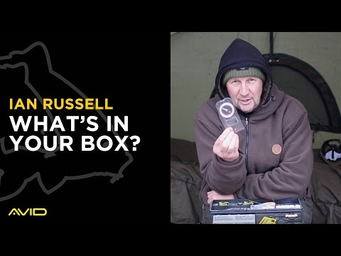 AVID CARP- What's In Your Box?- Ian Russell