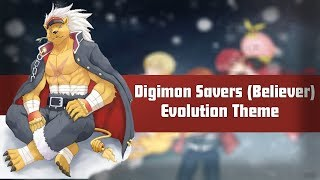 Digimon Savers - Believer (Evolution Theme) - 【Legendado P...