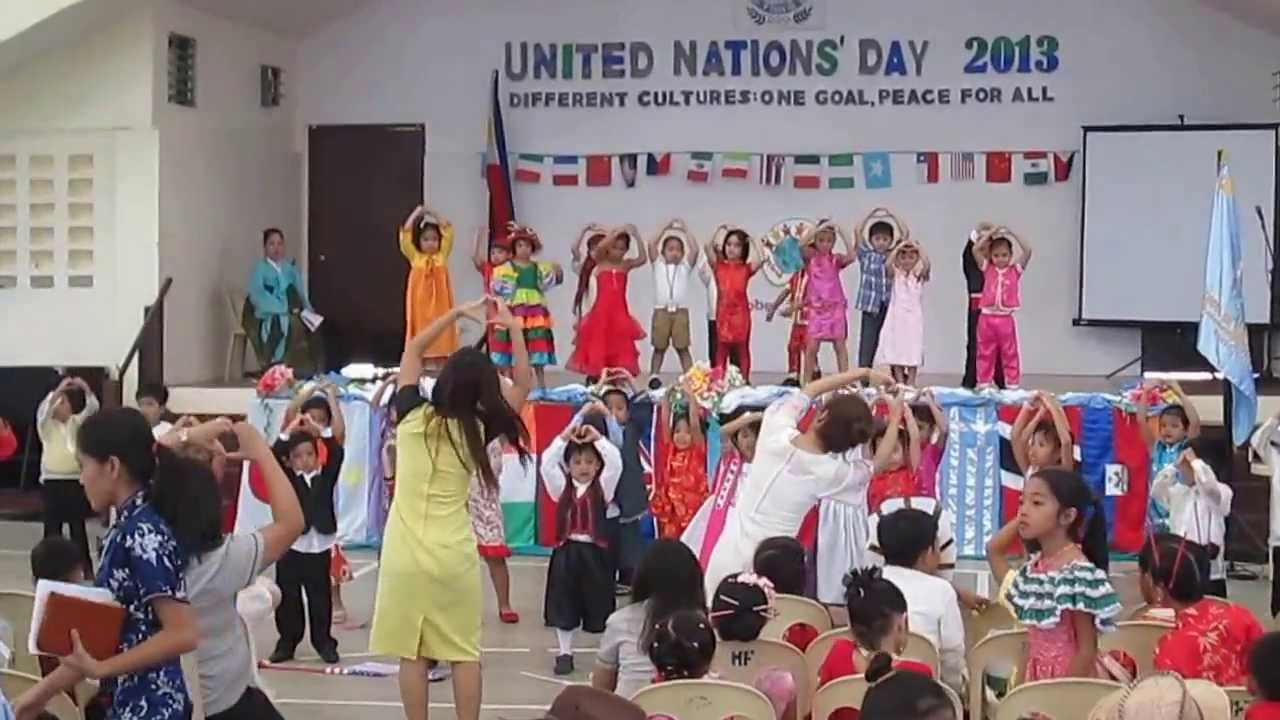 Kindergarten's Presentation - United Nations' Day 2013 ...