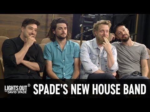 Watch Mumford & Sons Interview to be David Spade's House Band