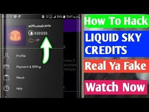 Liquidsky Account Hack