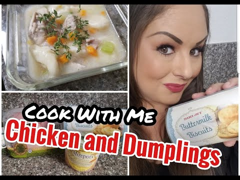 EASY Chicken and Dumplings | Cook With Me | Trader Joe's Tuesday