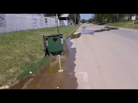Derrame de aguas servidas