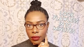 Get Ready With Me | My 10 Minute Flawless Makeup Routine