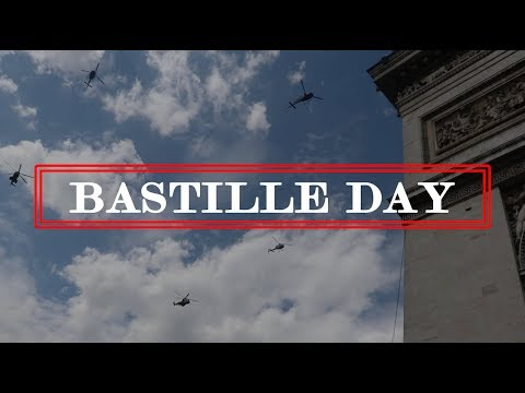 Bastille Day Military Air Show: Arc de Triomphe: Paris, France: Highlight HD Video