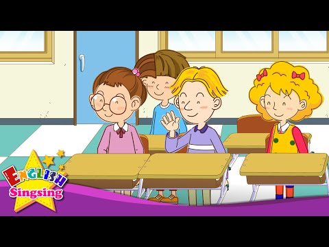 [Greeting] Good morning. How are you? - Easy Dialogue - English video for Kids