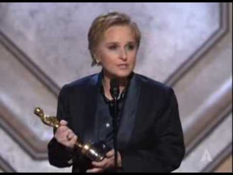 Melissa Etheridge winning Original Song for