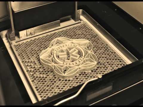 3D Printing of the Wallpaper Magazine Logo