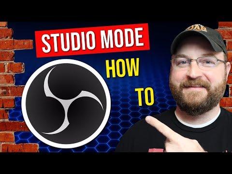 How To Use OBS Studio Studio Mode