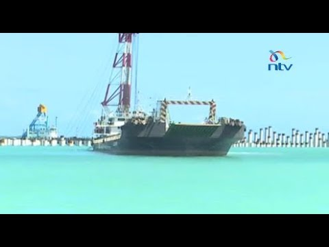Three berths out of 32 at LAPSSET's Lamu port now 40% complete