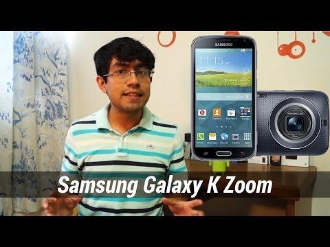 Samsung Galaxy K Zoom - Primeras impresiones en español