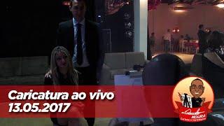 Caricatura ao vivo - 13/05/2017