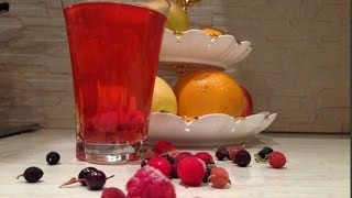 Компот из замороженных ягод /Просто и вкусно/ Compote with  frozen berries/ Easy and tasty
