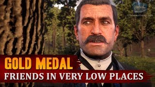Red Dead Redemption 2 - Mission #33 - Friends in Very Low Places [Gold Medal]