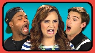 Repeat youtube video YOUTUBERS REACT TO CRINGE COMPILATION