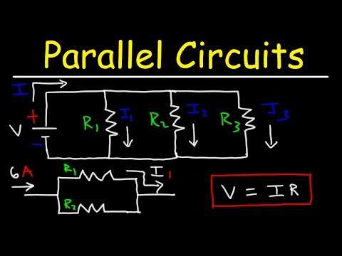 How To Calculate The Current In A Parallel Circuit Using Ohm's Law
