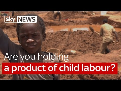 Cobalt mining for phones: How you could be holding a product of child labour