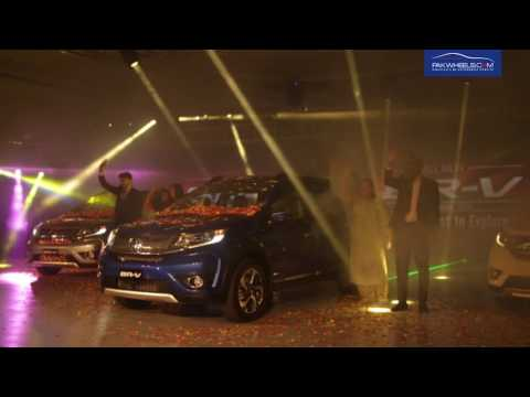 Honda BR-V launched - Lahore