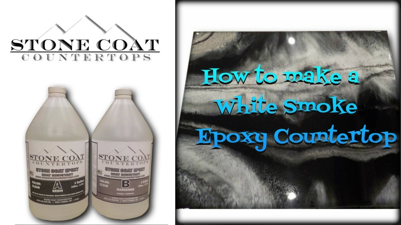 How To Make White Smoke Counter Top Color Training