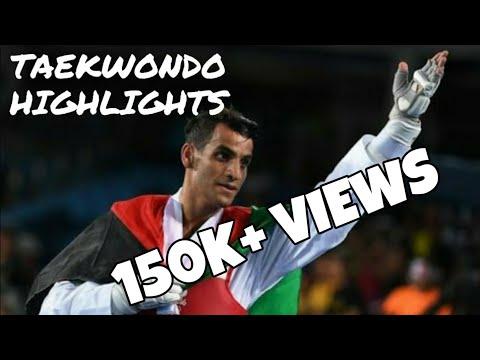 Ahmad abughoush (Jordan) in world taekwondo championship muju 2017. best kicks..