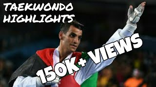 Ahmad abughoush (Jordan) in world taekwondo championship muju 2017. best kicks..
