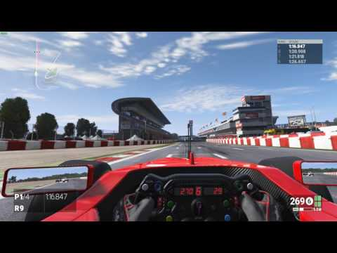 Project Cars - Barcelona GP - 1:19:936 - HotLap & Setup - F1 / Formula A