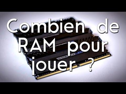COMBIEN DE RAM POUR 2017 ? - Test Jeux et Encodage - Corsair Vengeance LED [Review]