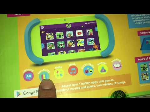 PBS Kids Tablet Set Up / Mini Review (Video For Parents)