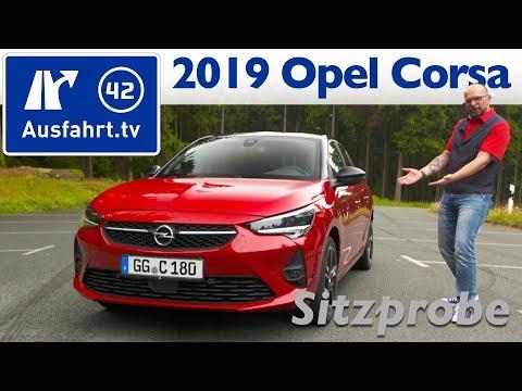2019 Opel Corsa F GS Line – Weltpremiere, Sitzprobe, kein Test, Interieur