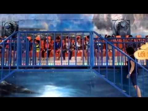 Trò chơi đáng sợ nhất tại công viên nước Hồ tây